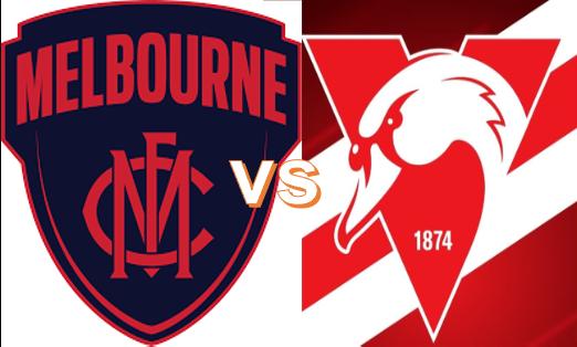 Round 8 - Melbourne VS Swans 7