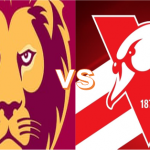 Round 1: Saturday 20 March - Lions VS Swans 2