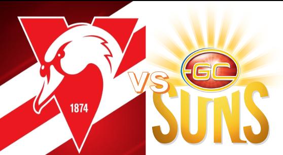 Round 23 - Swans VS Suns 7