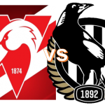 Round 9 - Swans VS Magpies 3