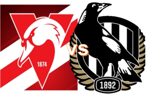 Round 9 - Swans VS Magpies 6