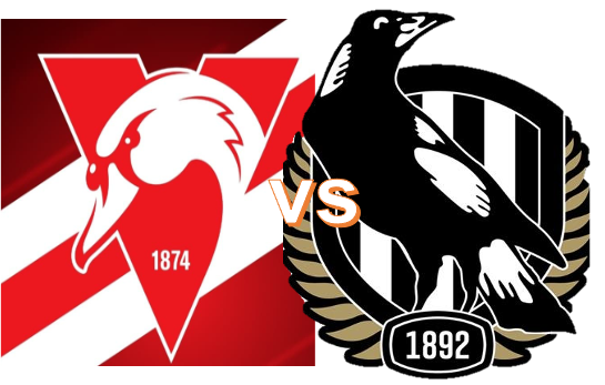 Round 9 - Swans VS Magpies 7