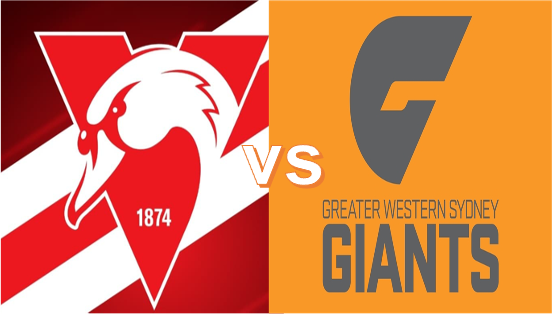 Round 5: Saturday April 17 - Swans VS Giants 7