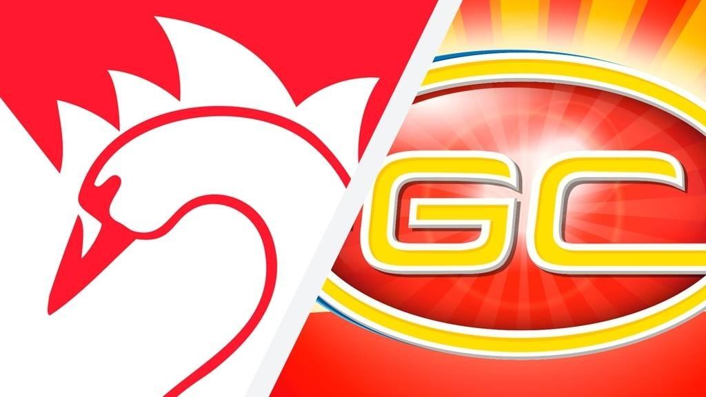 Round 7 - Sydney V Suns, Saturday 18 July 7