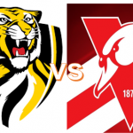 Round 3  - Saturday April 3 - Richmond VS Swans 20