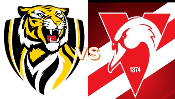 Round 3 - Saturday April 3 - Richmond VS Swans 7